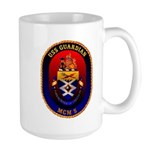 USS Guardian MCM 5 US Navy Ship Large Mug