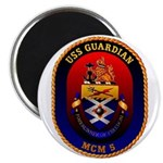USS Guardian MCM 5 US Navy Ship Magnet
