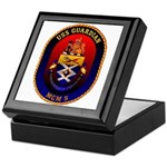 USS Guardian MCM 5 US Navy Ship Keepsake Box