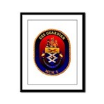 USS Guardian MCM 5 US Navy Ship Framed Panel Print