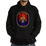 USS Guardian MCM 5 US Navy Ship Hoodie (dark)