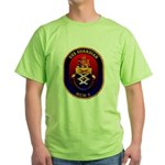 USS Guardian MCM 5 US Navy Ship Green T-Shirt