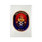 USS Guardian MCM 5 US Navy Ship Rectangle Magnet (