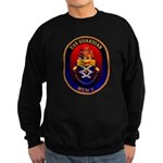 USS Guardian MCM 5 US Navy Ship Sweatshirt (dark)