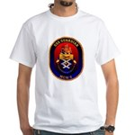 USS Guardian MCM 5 US Navy Ship White T-Shirt