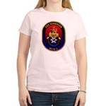 USS Guardian MCM 5 US Navy Ship Women's Light T-Sh