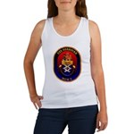 USS Guardian MCM 5 US Navy Ship Women's Tank Top