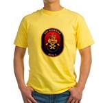 USS Guardian MCM 5 US Navy Ship Yellow T-Shirt