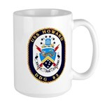 USS Howard DDG 83 US Navy Ship Large Mug