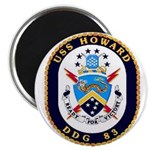 USS Howard DDG 83 US Navy Ship Magnet