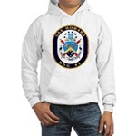 USS Howard DDG 83 US Navy Ship Hooded Sweatshirt