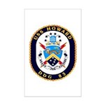 USS Howard DDG 83 US Navy Ship Mini Poster Print