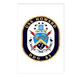 USS Howard DDG 83 US Navy Ship Postcards (Package