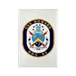 USS Howard DDG 83 US Navy Ship Rectangle Magnet (1