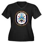 USS Howard DDG 83 US Navy Ship Women's Plus Size V