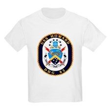 USS Howard DDG 83 US Navy Ship T-Shirt
