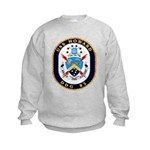 USS Howard DDG 83 US Navy Ship Kids Sweatshirt
