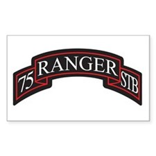 75 Ranger STB scroll Rectangle Decal