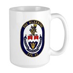 USS Klakring FFG 42 US Navy Ship Large Mug