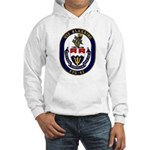USS Klakring FFG 42 US Navy Ship Hooded Sweatshirt