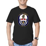 USS Klakring FFG 42 US Navy Ship Men's Fitted T-Sh