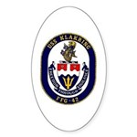USS Klakring FFG 42 US Navy Ship Oval Sticker