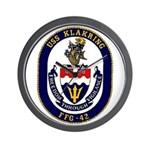 USS Klakring FFG 42 US Navy Ship Wall Clock