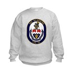 USS Klakring FFG 42 US Navy Ship Kids Sweatshirt