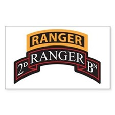 2D Ranger BN Scroll with Rang Rectangle Decal