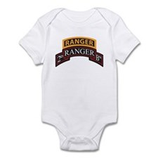 2D Ranger BN Scroll with Rang Infant Bodysuit