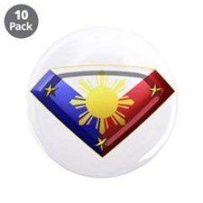"Super Pinoy 3.5"" Button (10 pack)"