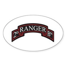 2D Ranger BN Scroll Oval Decal