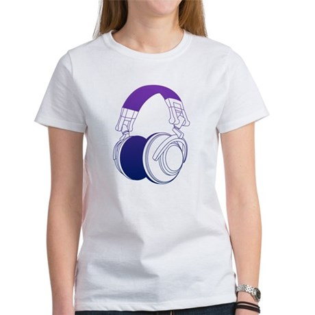 DJ Headphones 2 Women's T-Shirt