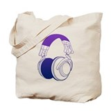 DJ Headphones 2 Tote Bag