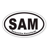 SAM Euro Oval Decal