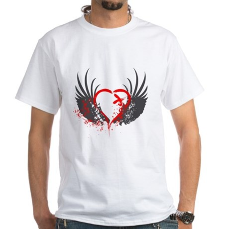 Blood Wings White T-Shirt