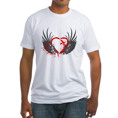 Blood Wings Fitted T-Shirt