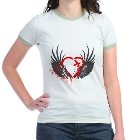 Blood Wings Jr. Ringer T-Shirt