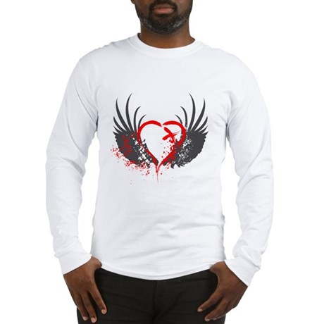 Blood Wings Long Sleeve T-Shirt