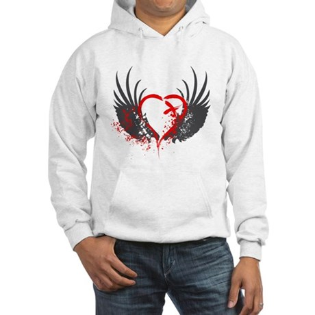 Blood Wings Hooded Sweatshirt