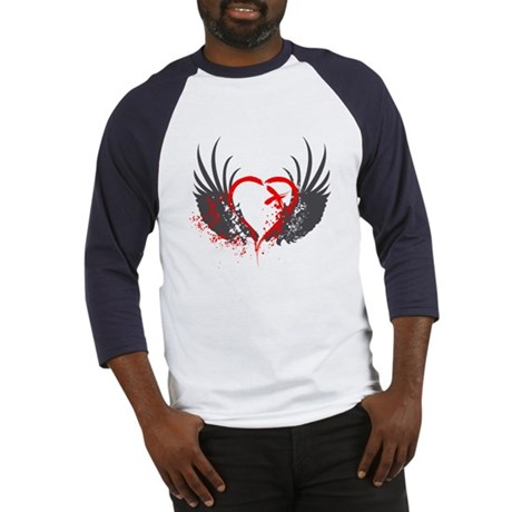 Blood Wings Baseball Jersey