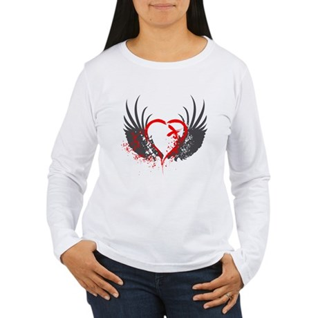Blood Wings Women's Long Sleeve T-Shirt