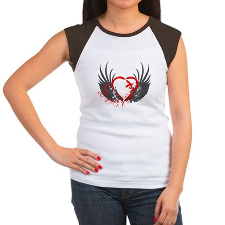 Blood Wings Women's Cap Sleeve T-Shirt