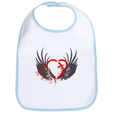 Blood Wings Bib