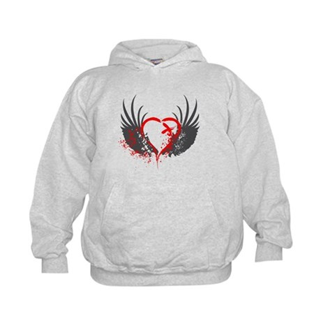 Blood Wings Kids Hoodie