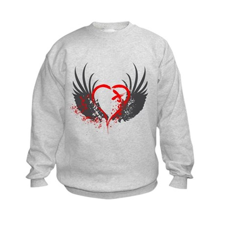 Blood Wings Kids Sweatshirt