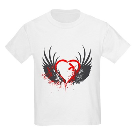 Blood Wings Kids Light T-Shirt