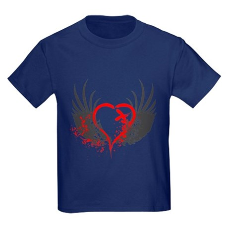 Blood Wings Kids Dark T-Shirt