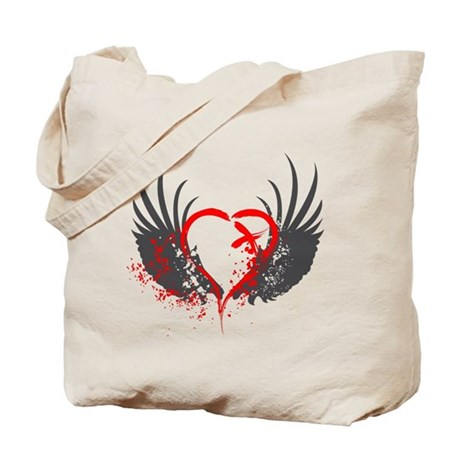 Blood Wings Tote Bag