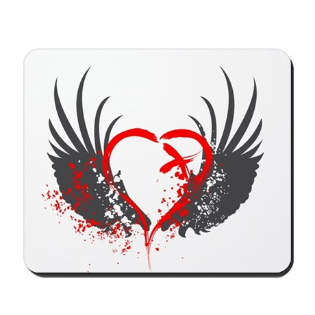 Blood Wings Mousepad